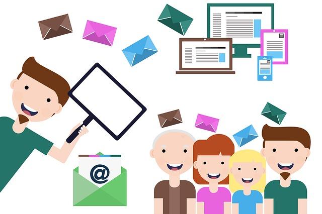 Rozesílání e-mailů