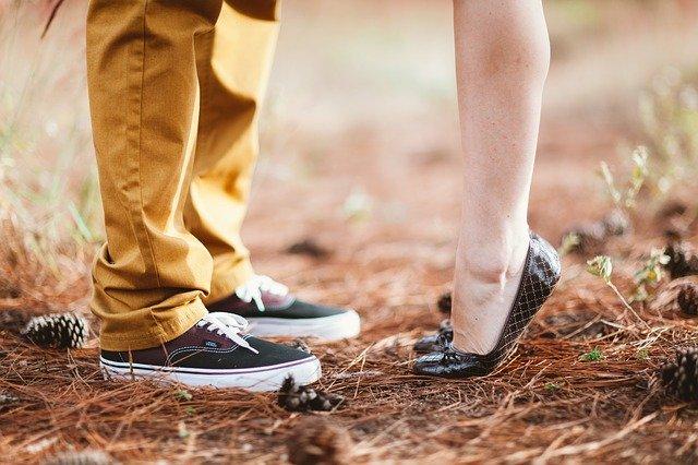 nohy páru