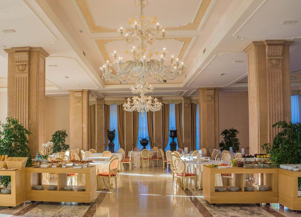 luxusní jídelna