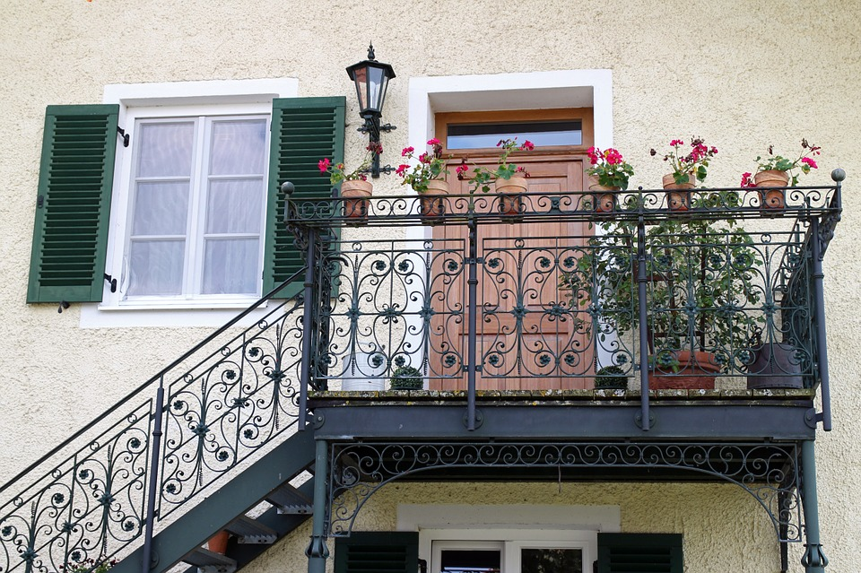 zábradlí balkonu